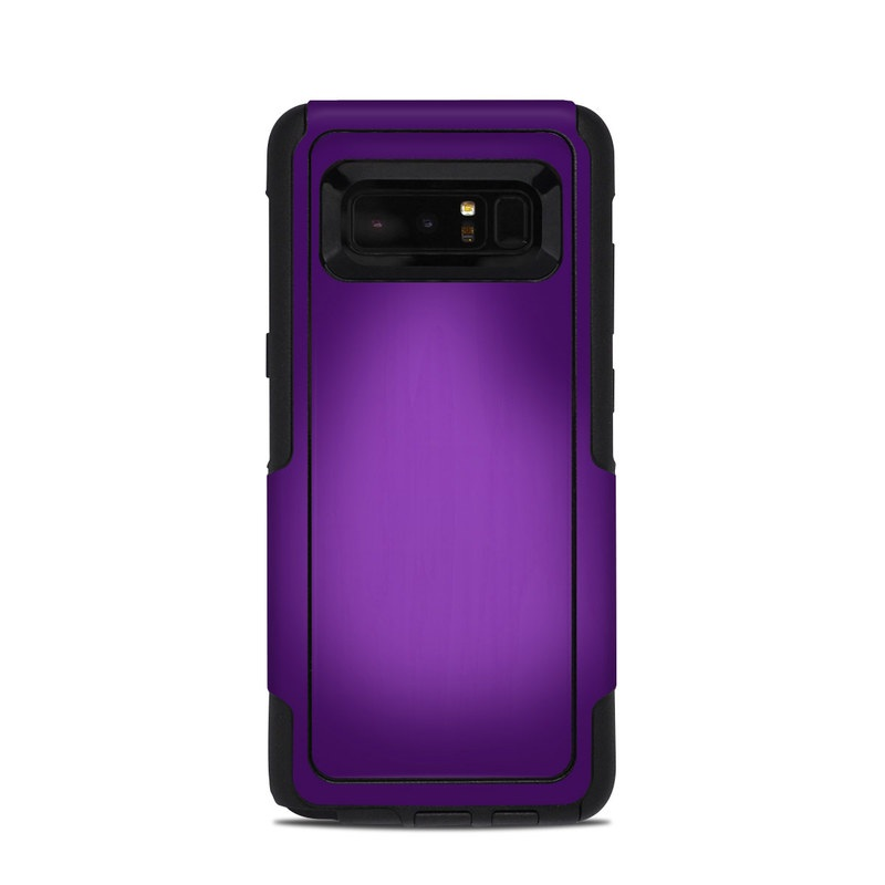 new concept bff4d ace00 Purple Burst OtterBox Commuter Galaxy Note 8 Case Skin