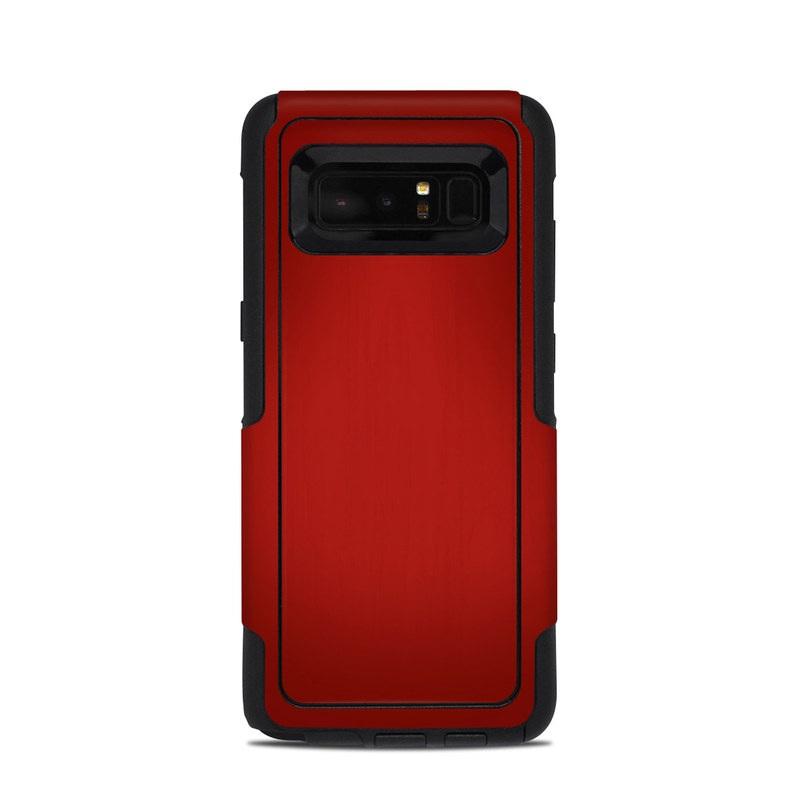 Red Burst OtterBox Commuter Galaxy Note 8 Case Skin