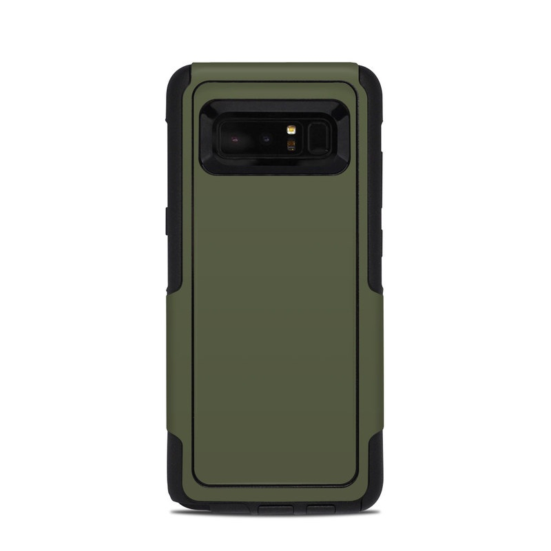 Solid State Olive Drab OtterBox Commuter Galaxy Note 8 Case Skin