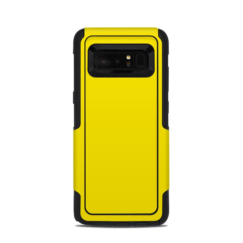 low priced 2d39d 21dd6 Solid State Yellow OtterBox Commuter Galaxy Note 8 Case Skin