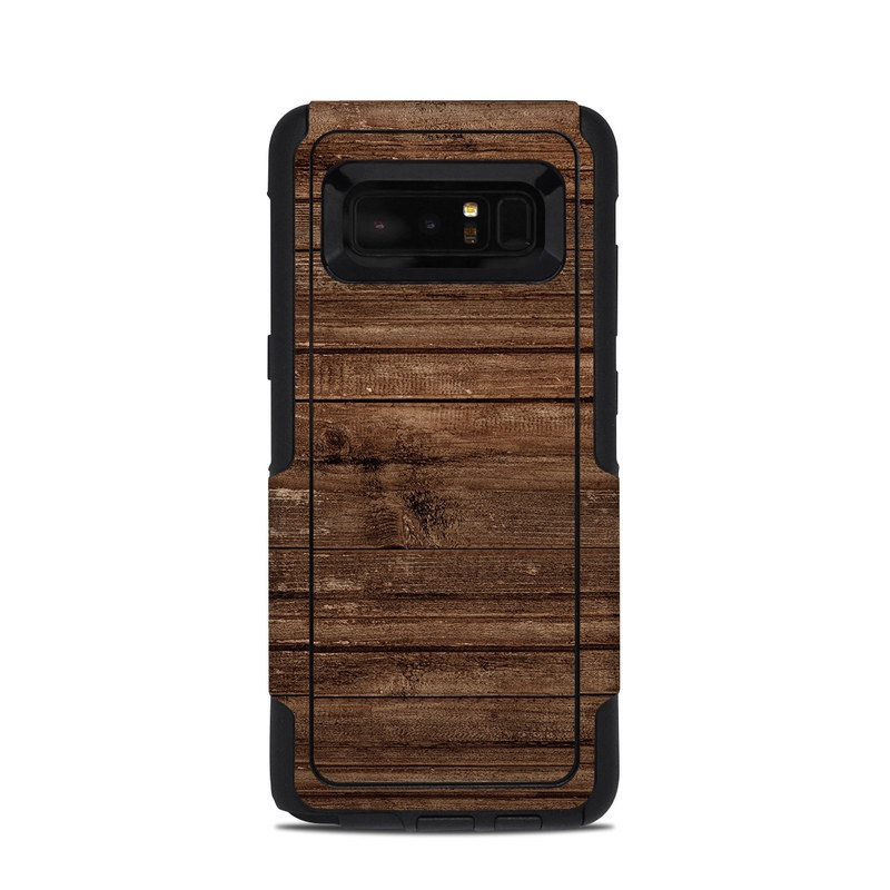 Stripped Wood OtterBox Commuter Galaxy Note 8 Case Skin