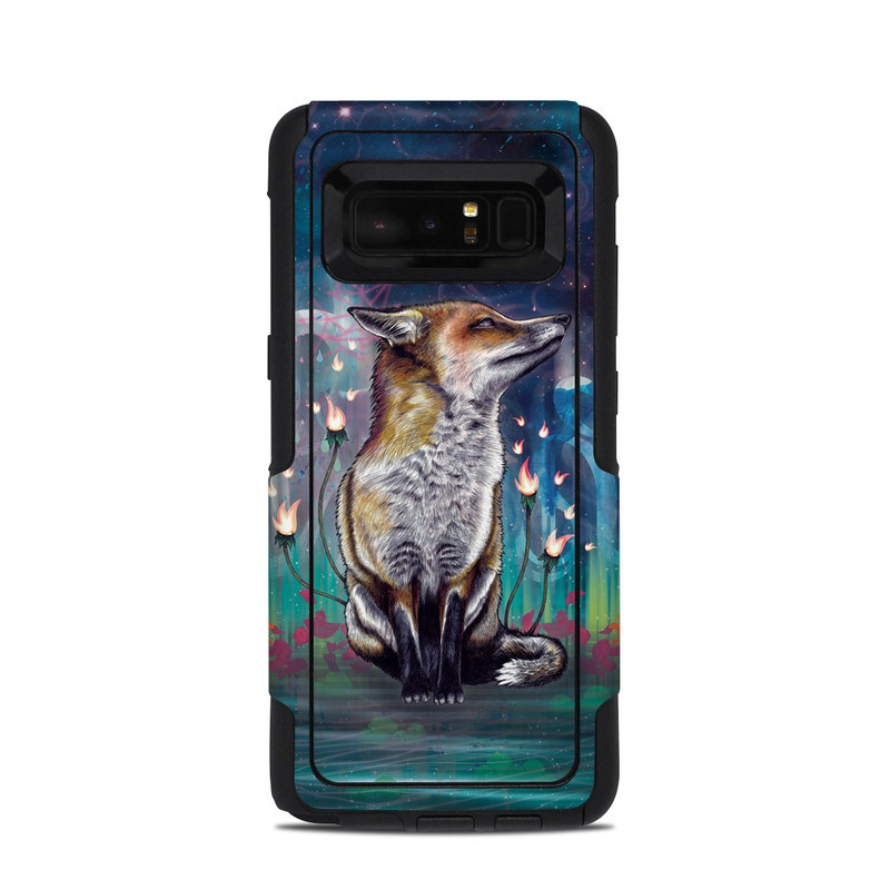 There is a Light OtterBox Commuter Galaxy Note 8 Case Skin