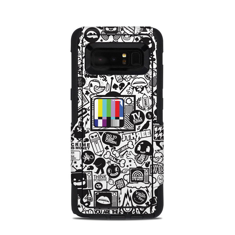 TV Kills Everything OtterBox Commuter Galaxy Note 8 Case Skin