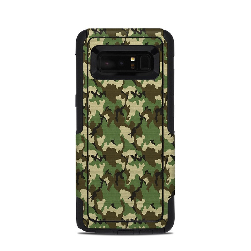 Woodland Camo OtterBox Commuter Galaxy Note 8 Case Skin