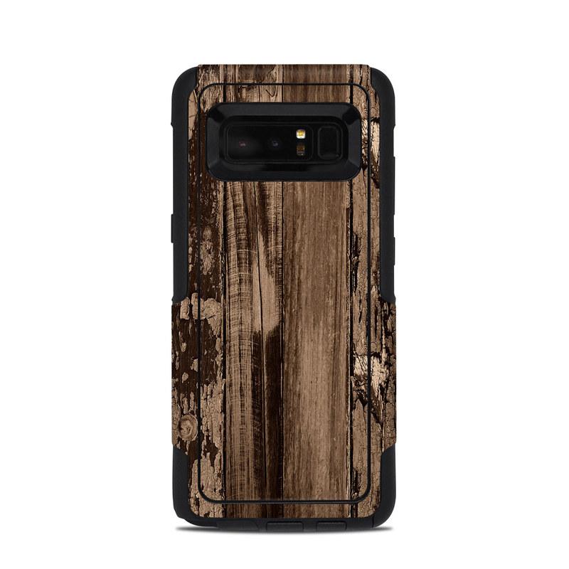 Weathered Wood OtterBox Commuter Galaxy Note 8 Case Skin