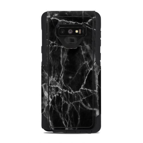 Black Marble OtterBox Commuter Galaxy Note 9 Case Skin