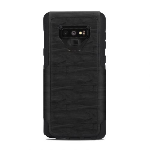 Black Woodgrain OtterBox Commuter Galaxy Note 9 Case Skin