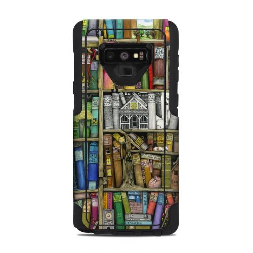 Bookshelf OtterBox Commuter Galaxy Note 9 Case Skin