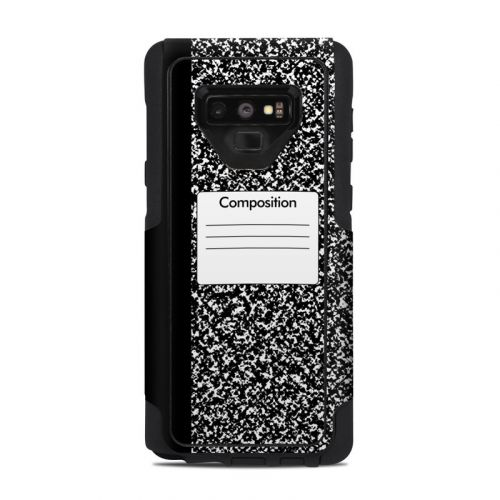 Composition Notebook OtterBox Commuter Galaxy Note 9 Case Skin