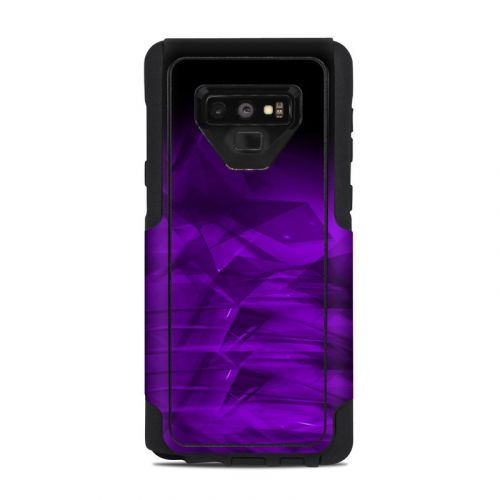 Dark Amethyst Crystal OtterBox Commuter Galaxy Note 9 Case Skin