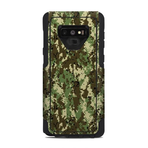 Digital Woodland Camo OtterBox Commuter Galaxy Note 9 Case Skin