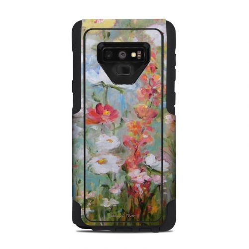 Flower Blooms OtterBox Commuter Galaxy Note 9 Case Skin