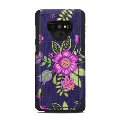 Folk Floral OtterBox Commuter Galaxy Note 9 Case Skin