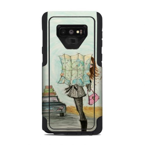 Getting There OtterBox Commuter Galaxy Note 9 Case Skin