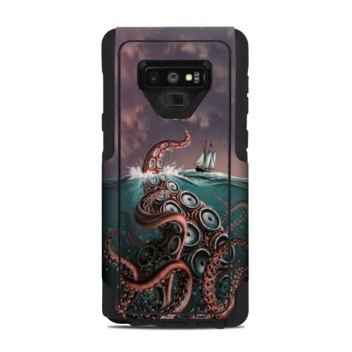 Kraken OtterBox Commuter Galaxy Note 9 Case Skin