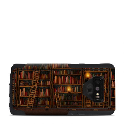 Library OtterBox Commuter Galaxy Note 9 Case Skin