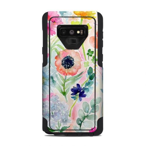 Loose Flowers OtterBox Commuter Galaxy Note 9 Case Skin