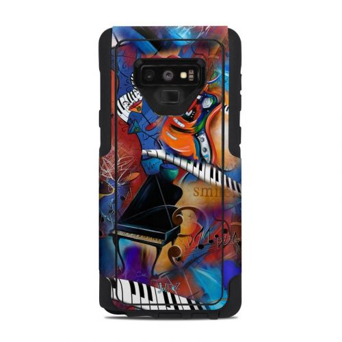 Music Madness OtterBox Commuter Galaxy Note 9 Case Skin