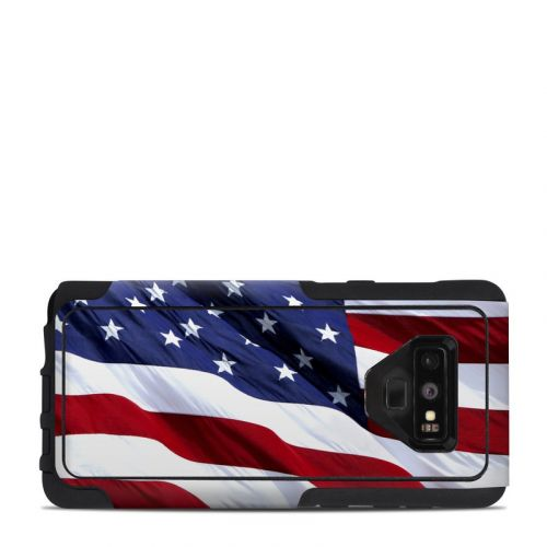 Patriotic OtterBox Commuter Galaxy Note 9 Case Skin