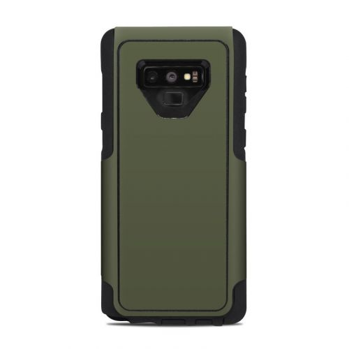 Solid State Olive Drab OtterBox Commuter Galaxy Note 9 Case Skin