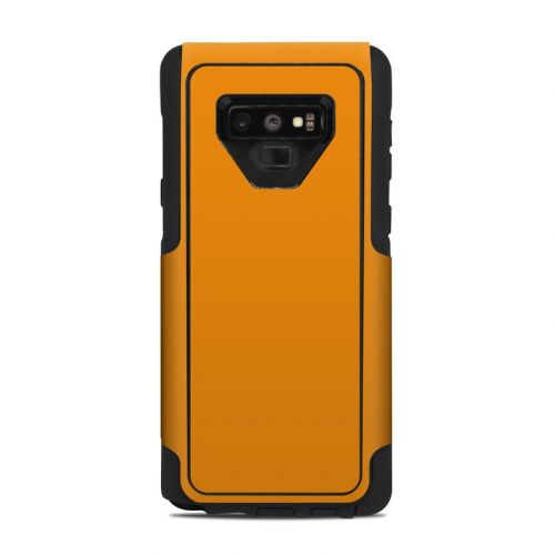 Solid State Orange OtterBox Commuter Galaxy Note 9 Case Skin