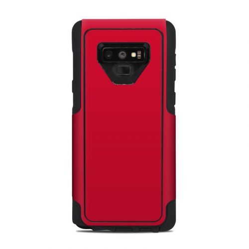 Solid State Red OtterBox Commuter Galaxy Note 9 Case Skin