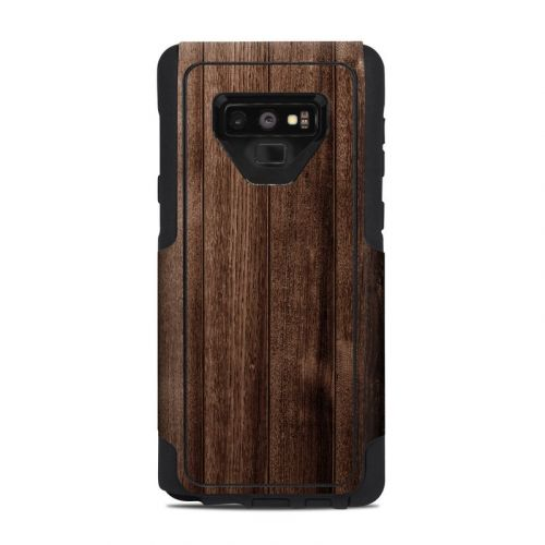 Stained Wood OtterBox Commuter Galaxy Note 9 Case Skin