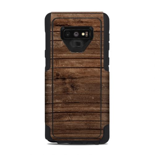 Stripped Wood OtterBox Commuter Galaxy Note 9 Case Skin