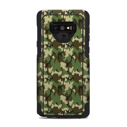Woodland Camo OtterBox Commuter Galaxy Note 9 Case Skin