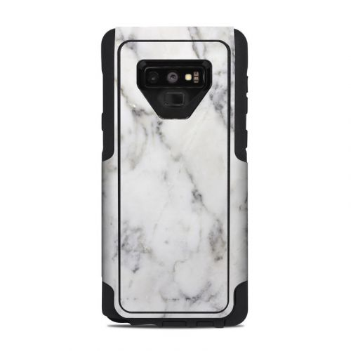 White Marble OtterBox Commuter Galaxy Note 9 Case Skin