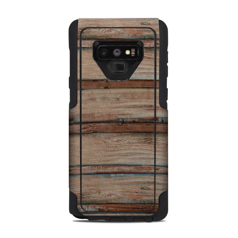 buy online 4fbcd b35e5 Boardwalk Wood OtterBox Commuter Galaxy Note 9 Case Skin