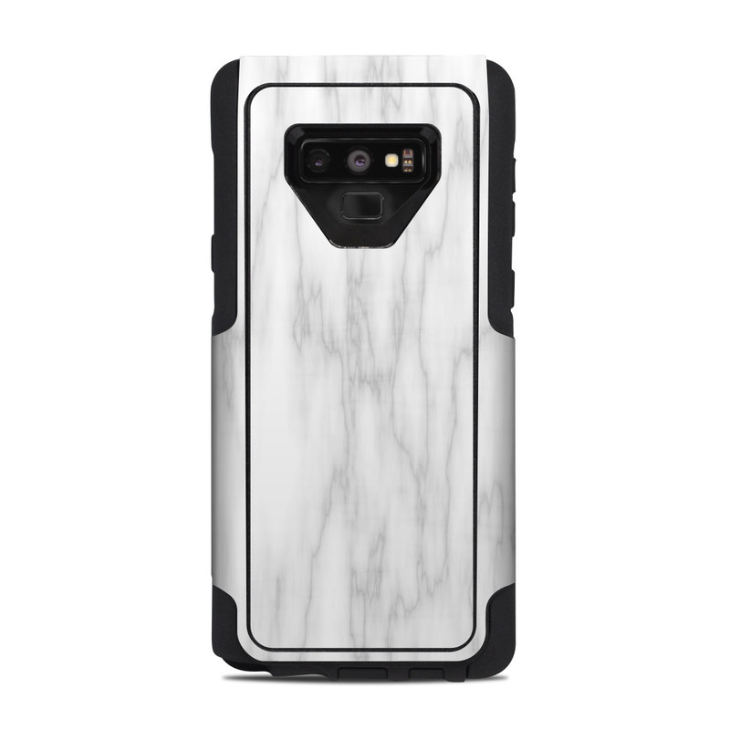 Bianco Marble OtterBox Commuter Galaxy Note 9 Case Skin