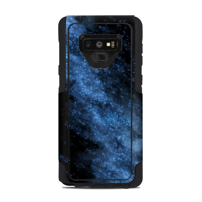 OtterBox Commuter Galaxy Note 9 Case Skin design of Sky, Atmosphere, Black, Blue, Outer space, Atmospheric phenomenon, Astronomical object, Darkness, Universe, Space with black, blue colors