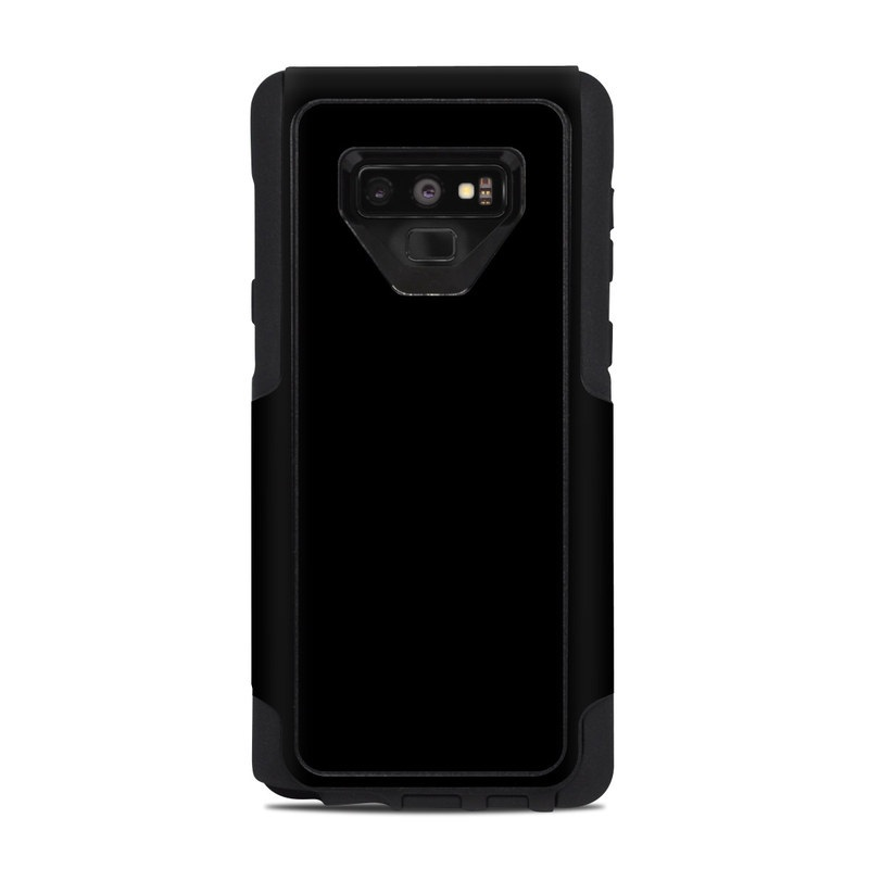 Solid State Black OtterBox Commuter Galaxy Note 9 Case Skin