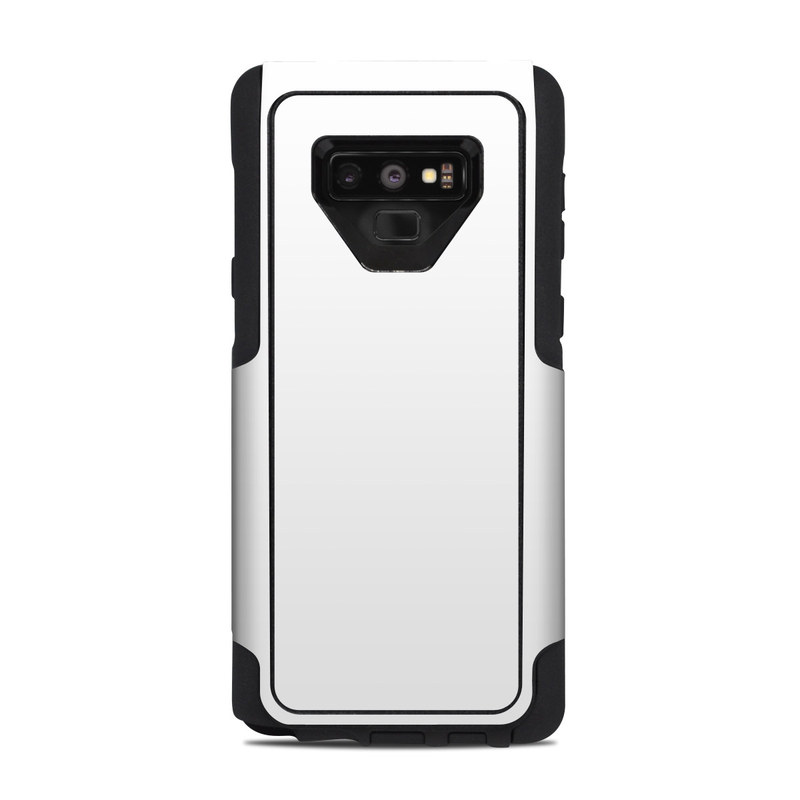 Solid State White OtterBox Commuter Galaxy Note 9 Case Skin