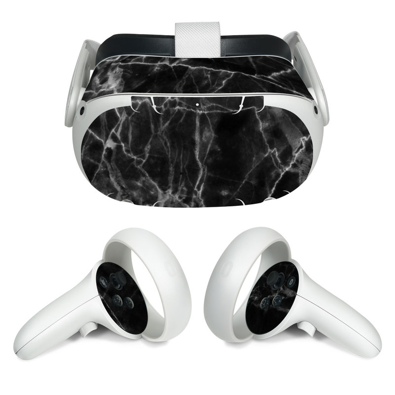 Oculus Quest 2 Skin design of Black, White, Nature, Black-and-white, Monochrome photography, Branch, Atmosphere, Atmospheric phenomenon, Tree, Sky with black, white colors