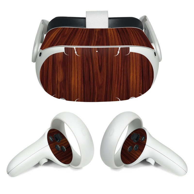 Oculus Quest 2 Skin design of Wood, Red, Brown, Hardwood, Wood flooring, Wood stain, Caramel color, Laminate flooring, Flooring, Varnish with black, red colors