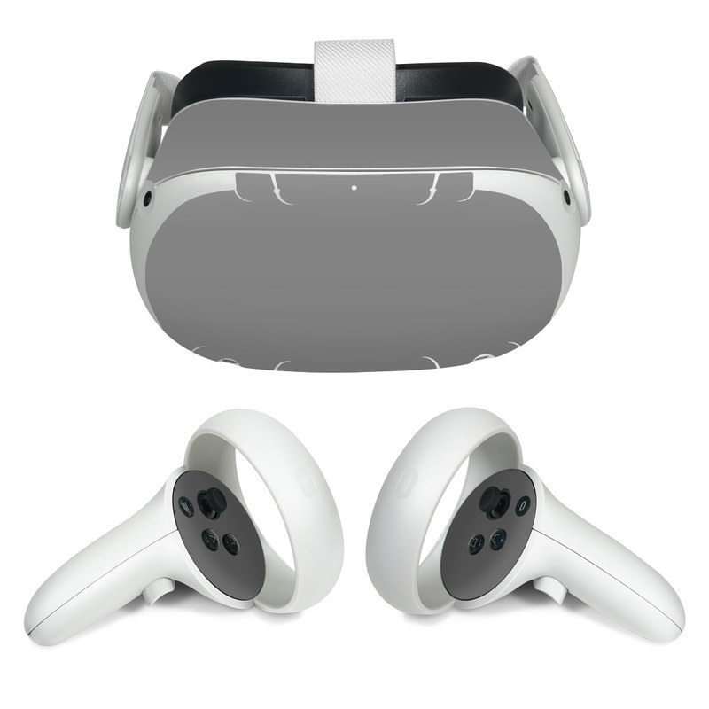 Oculus Quest 2 Skin design of Atmospheric phenomenon, Daytime, Grey, Brown, Sky, Calm, Atmosphere, Beige with gray colors