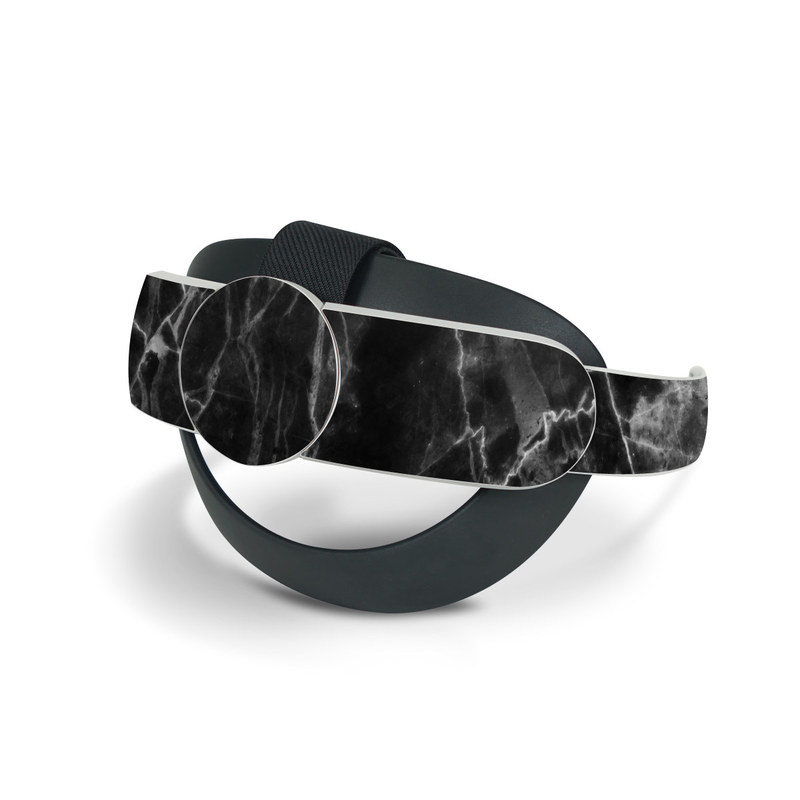 Oculus Quest 2 Elite Strap Skin design of Black, White, Nature, Black-and-white, Monochrome photography, Branch, Atmosphere, Atmospheric phenomenon, Tree, Sky with black, white colors