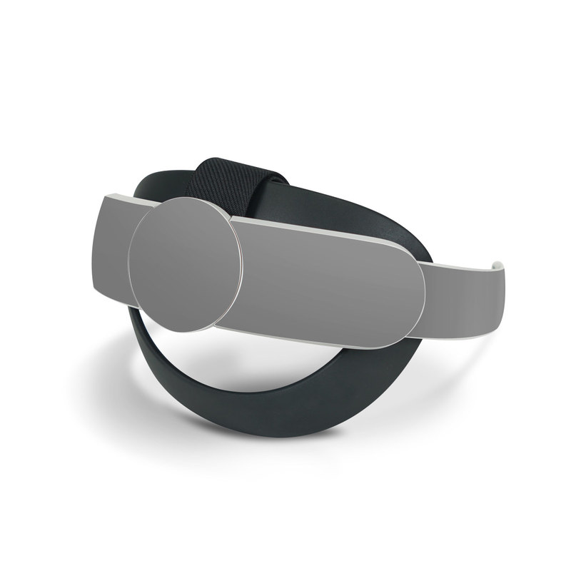 Oculus Quest 2 Elite Strap Skin design of Atmospheric phenomenon, Daytime, Grey, Brown, Sky, Calm, Atmosphere, Beige with gray colors