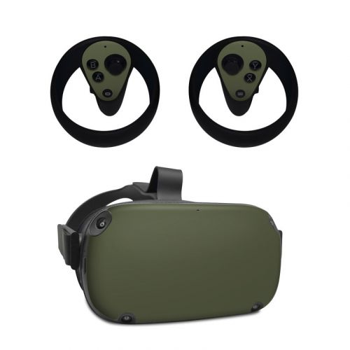 Solid State Olive Drab Oculus Quest Skin