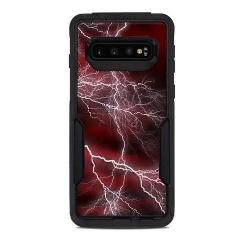 Apocalypse Red OtterBox Commuter Galaxy S10 Case Skin