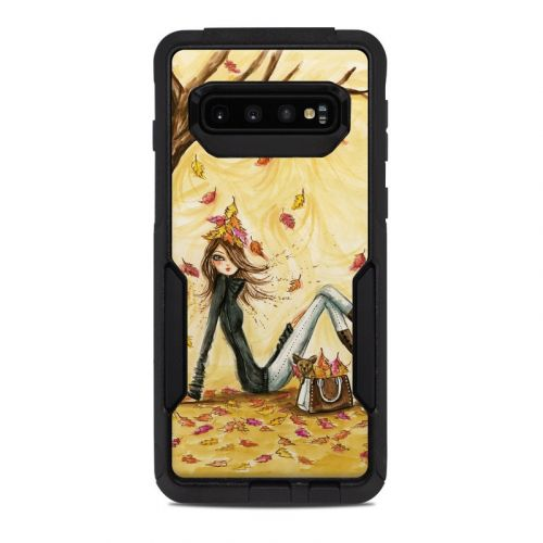 Autumn Leaves OtterBox Commuter Galaxy S10 Case Skin