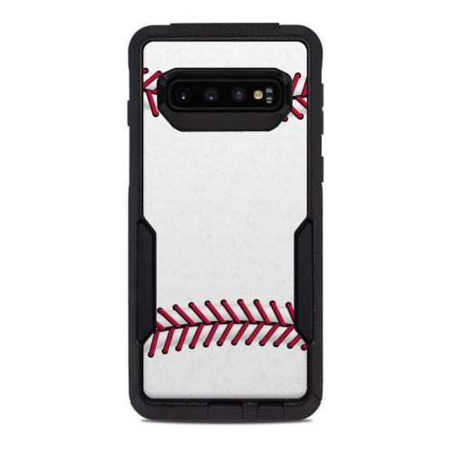 Baseball OtterBox Commuter Galaxy S10 Case Skin