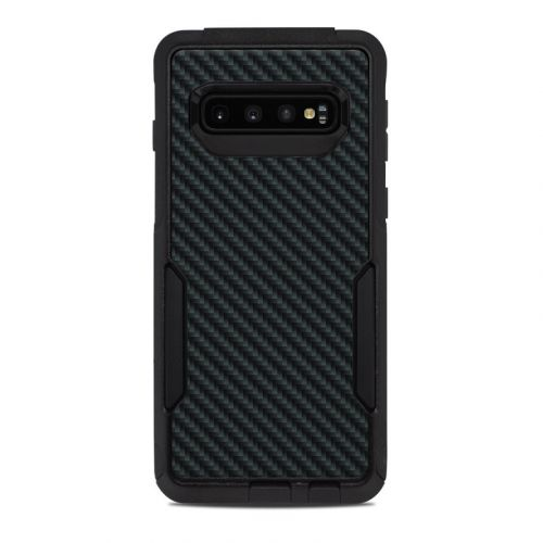 Carbon OtterBox Commuter Galaxy S10 Case Skin
