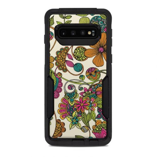 Maia Flowers OtterBox Commuter Galaxy S10 Case Skin