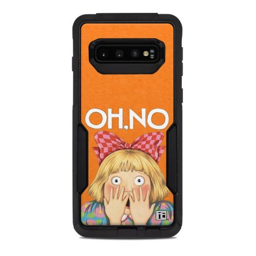 Oh No OtterBox Commuter Galaxy S10 Case Skin
