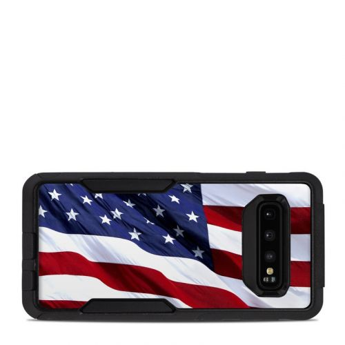 Patriotic OtterBox Commuter Galaxy S10 Case Skin