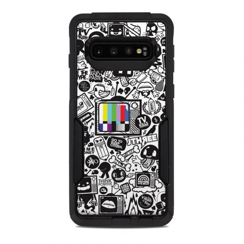 TV Kills Everything OtterBox Commuter Galaxy S10 Case Skin