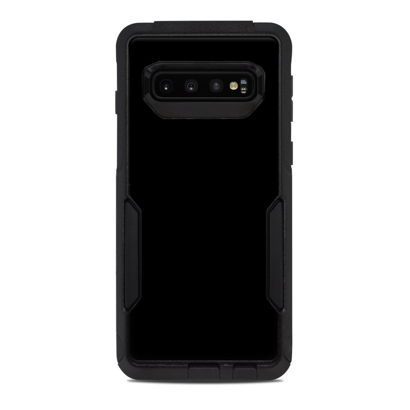 OtterBox Commuter Galaxy S10 Case Skin design of Black, Darkness, White, Sky, Light, Red, Text, Brown, Font, Atmosphere with black colors